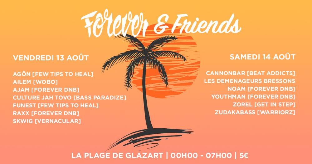 Forever DB & Friends à la Plage - Day 1