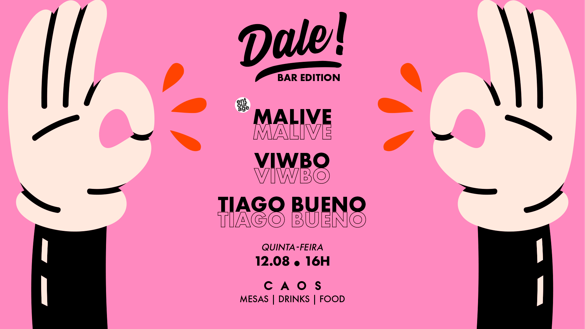 Dale! apresenta Malive