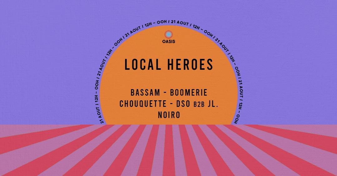 Local Heroes : l'Oasis Contre Attaque