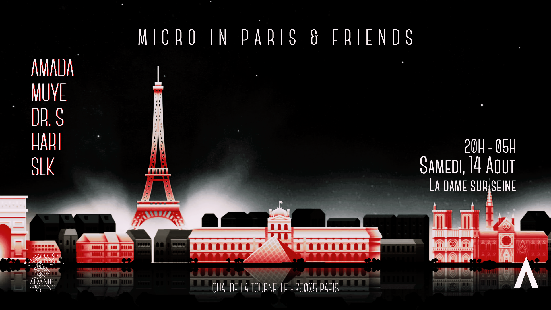 Micro in Paris invites : Hart x SLK