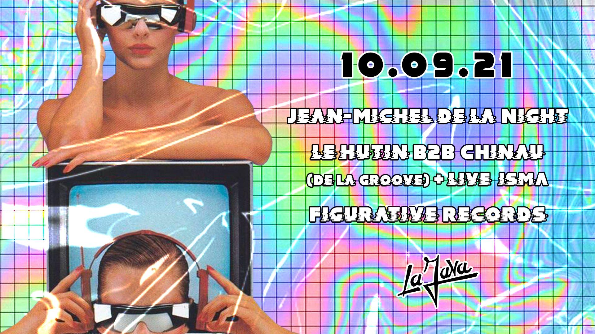 LA JAVA : Jean-Michel De La Night /  De La Groove / Figurative Records