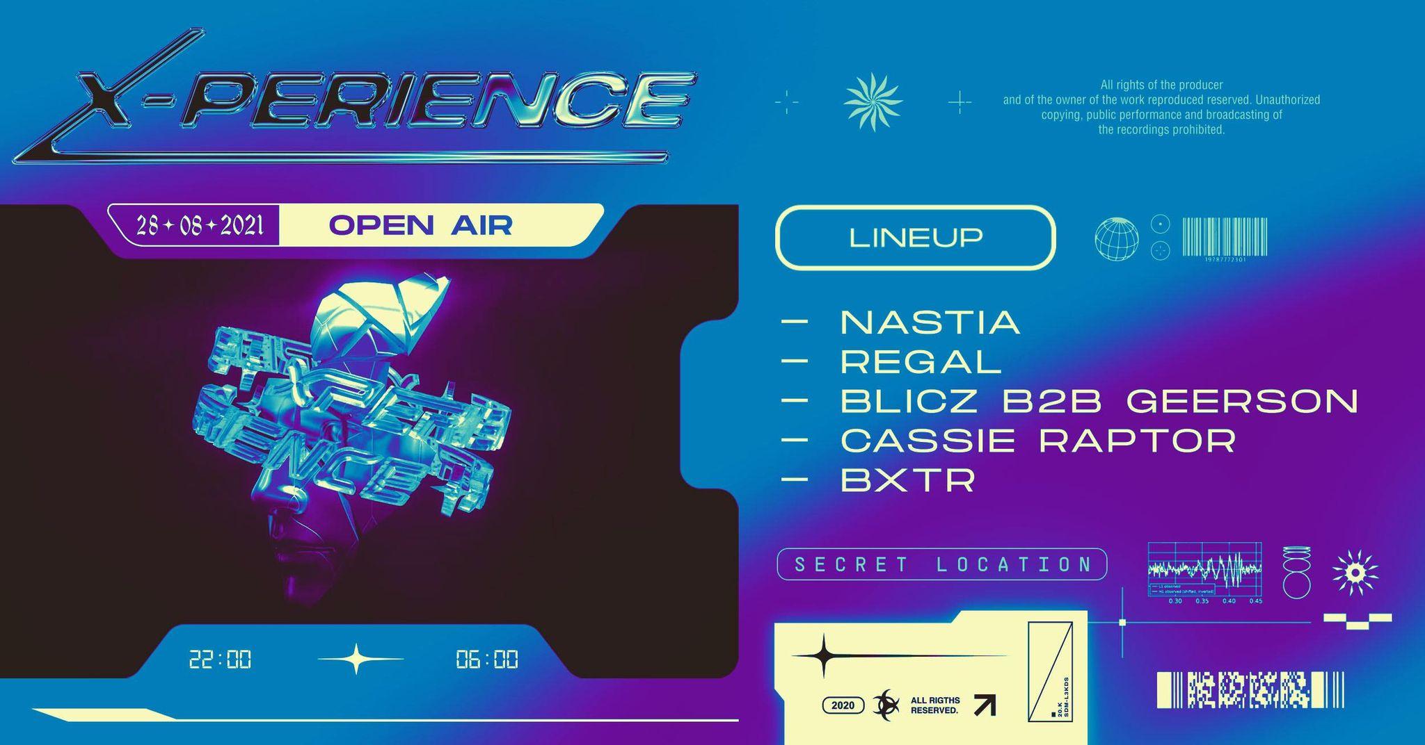 XPERIENCE#5 Nastia, Regal, Blicz B2B Geerson, Cassie Raptor, BXTR