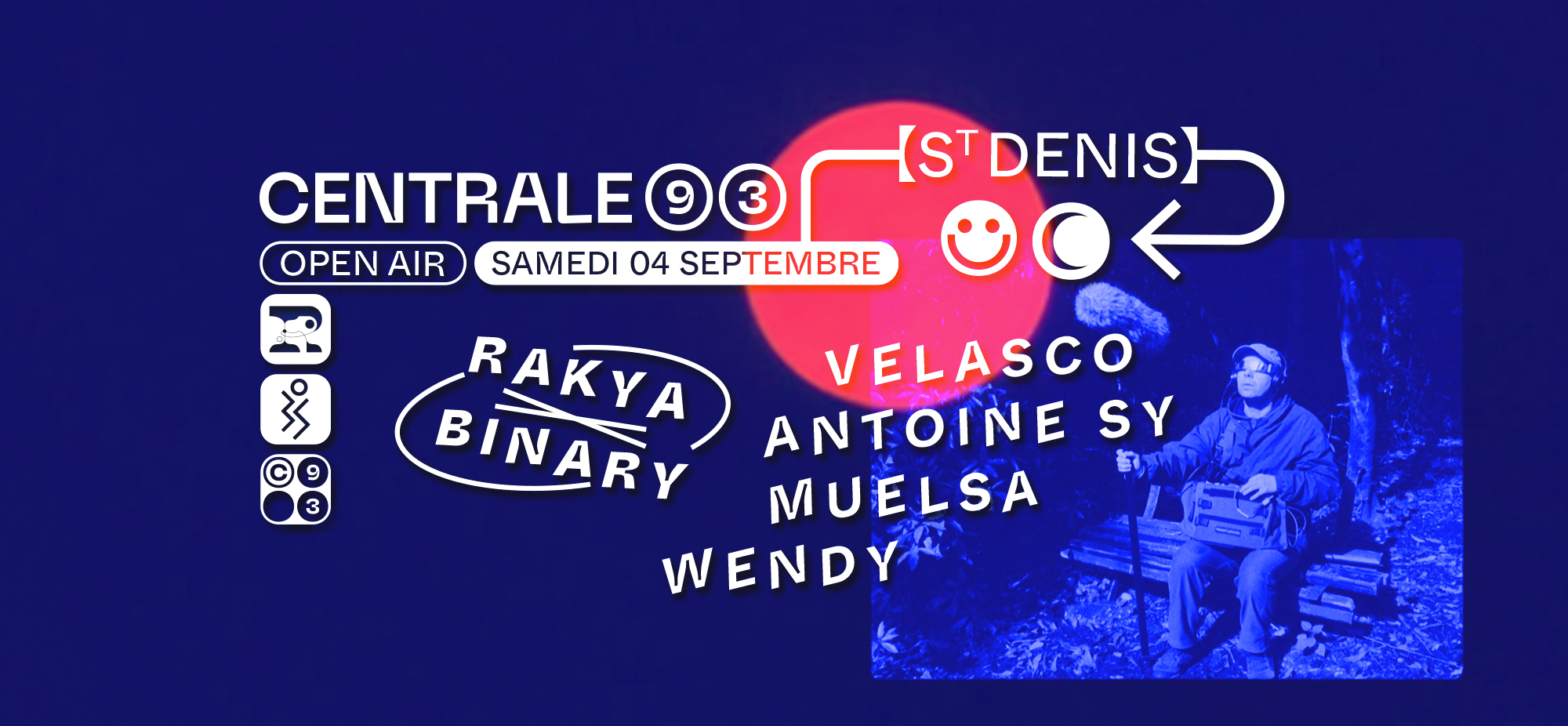 Rakya x BinarySound : Velasco, Antoine Sy, Wendy, Muelsa