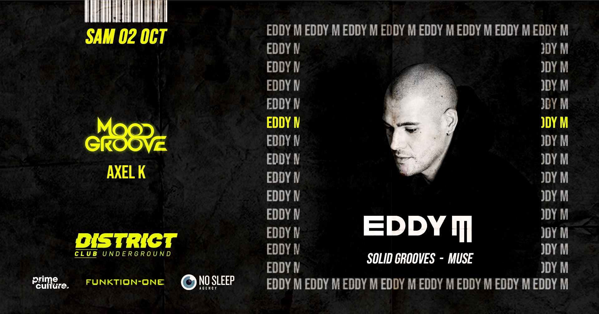 EDDY M (Solid Grooves - Muse) DISTRICT CLUB UNDER..