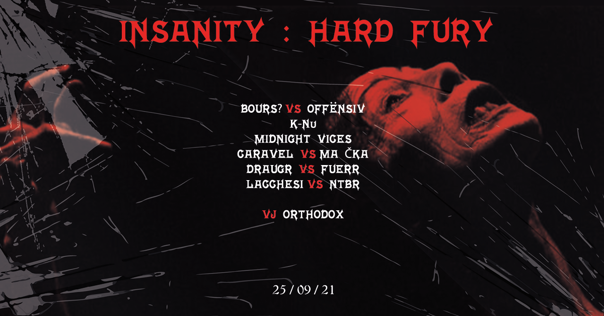 INSANITY : HARD FURY