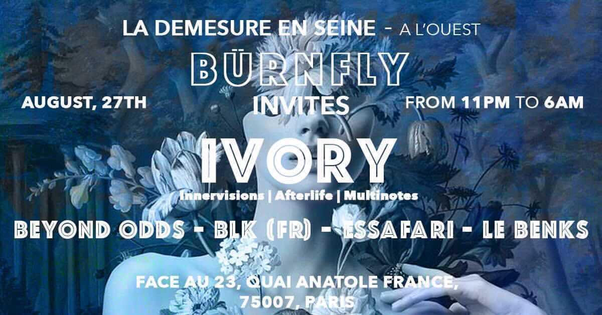 BÜRNFLY & SAM POPAT INVITE IVORY
