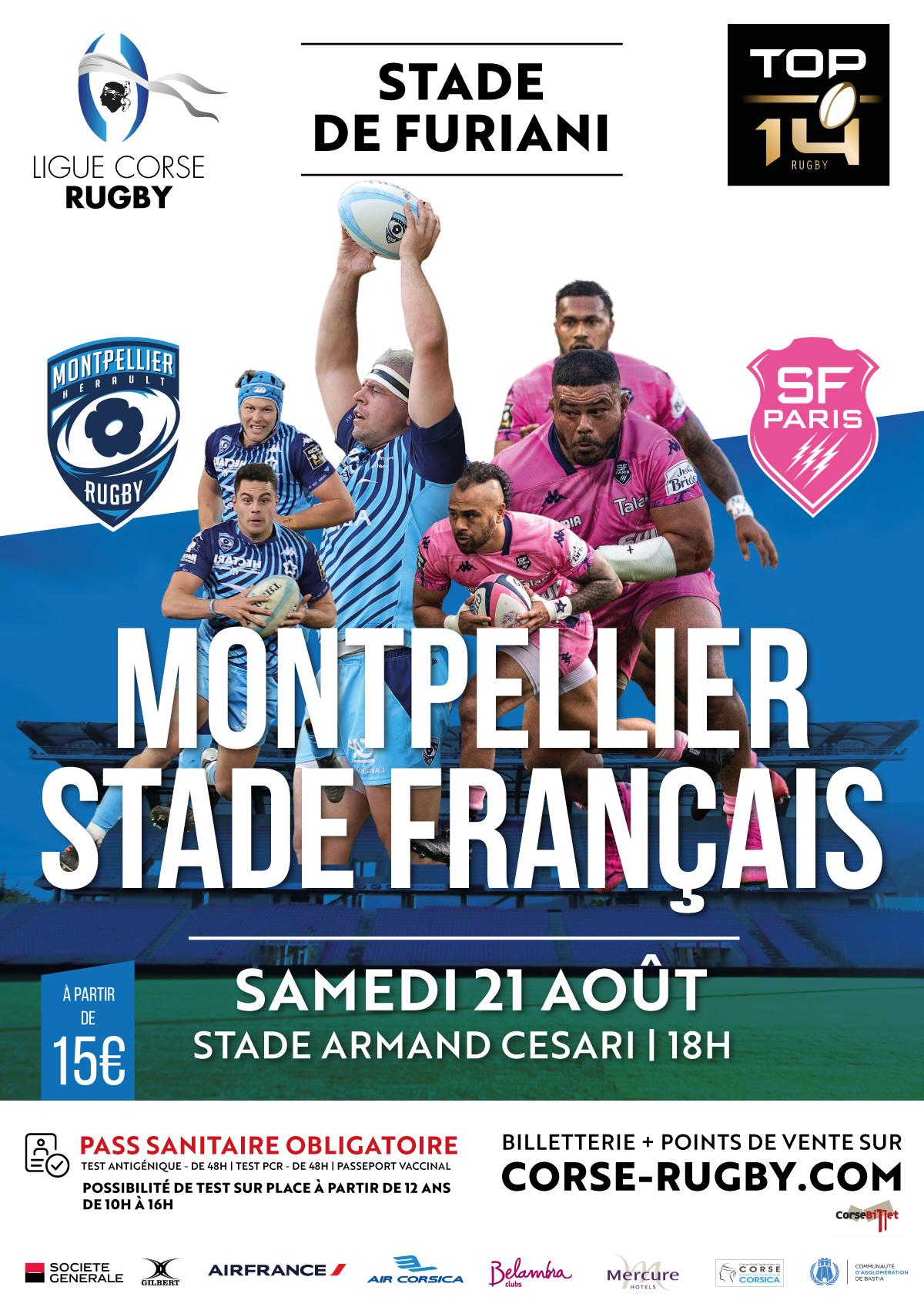 Montpellier - Stade Français