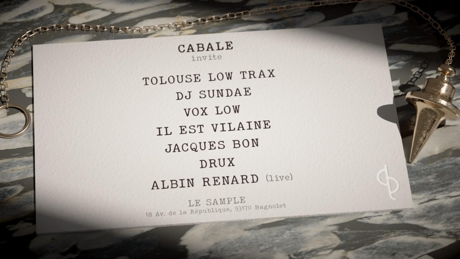 Cabale Records invite...