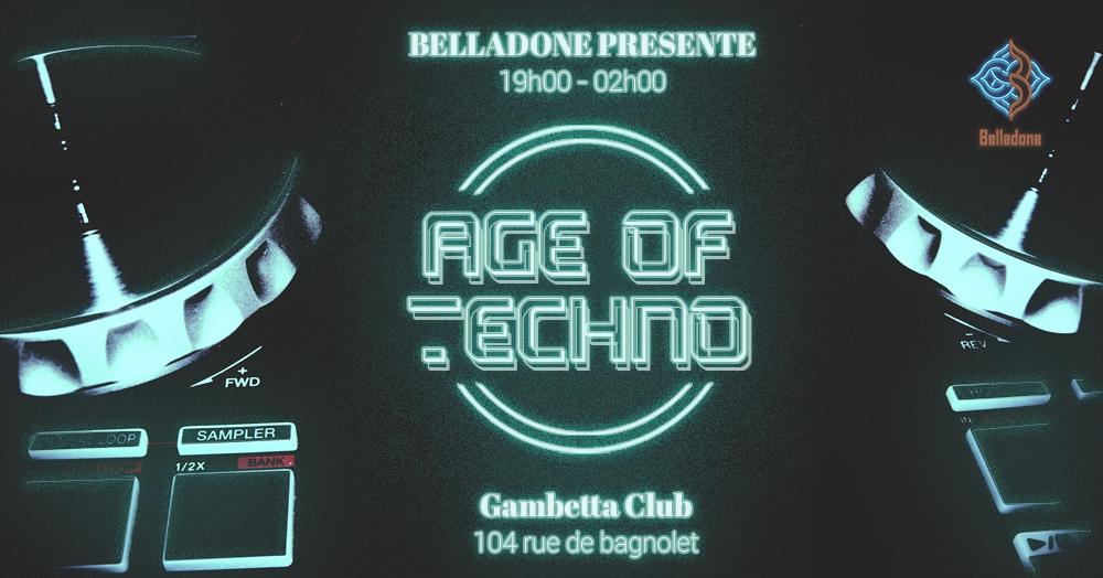 26/08 - Age Of Techno