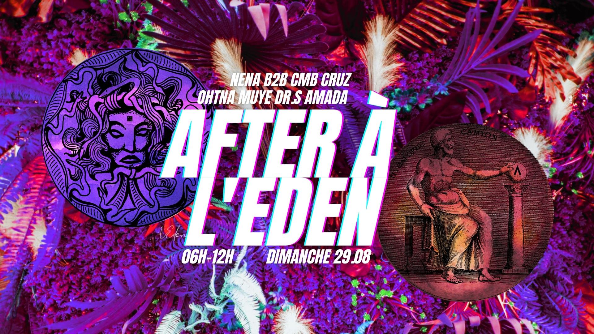 MICRO IN PARIS x EDEN GARDEN : AFTER PARTY [06H-12H]