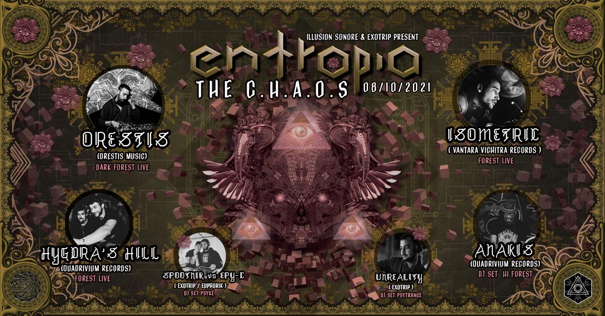 Entropia - The Chaos // Orestis / Isometric / Hygdra's Hill