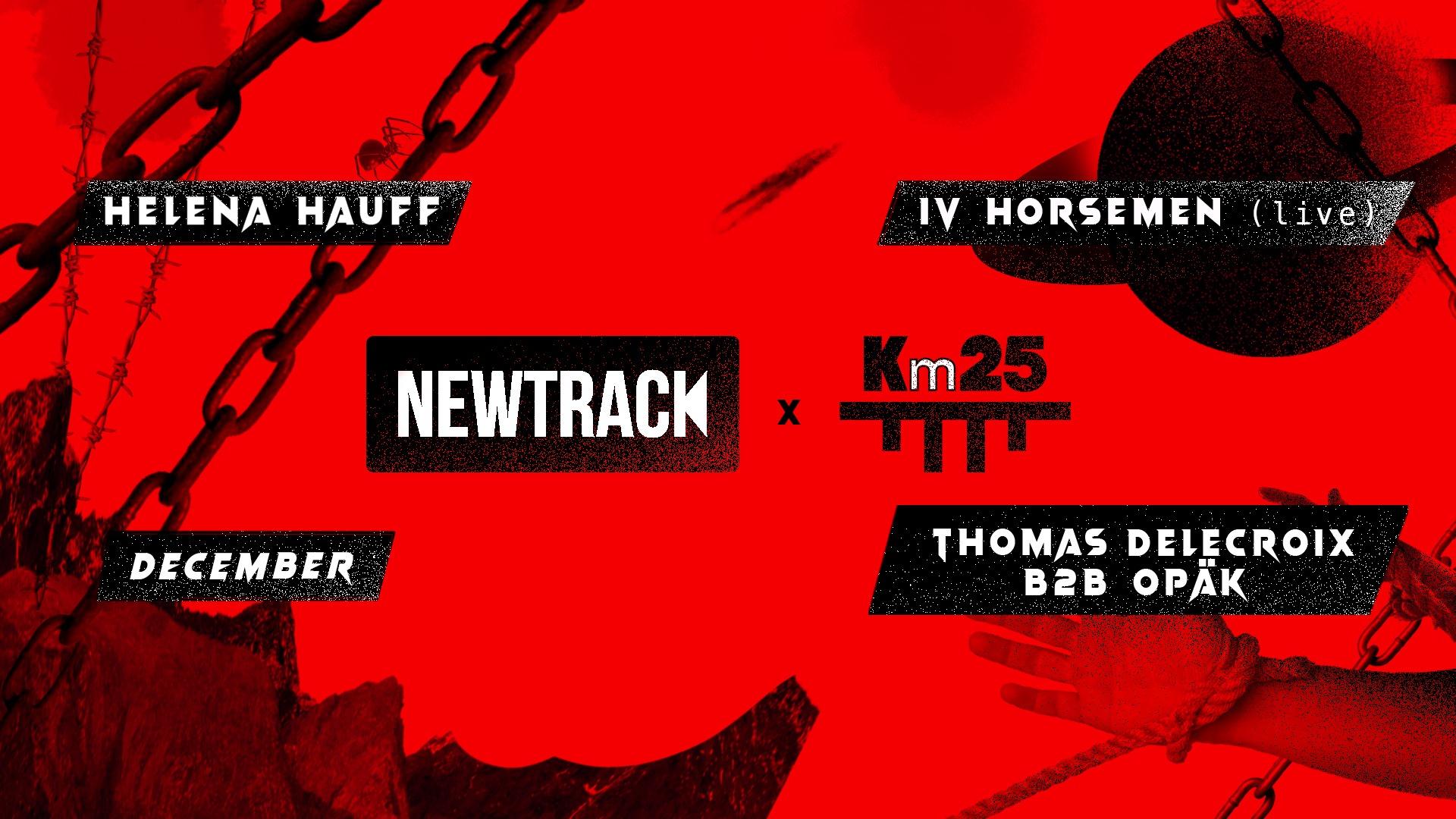 NEWTRACK x Kilomètre25 : Helena Hauff l December l IV Horsemen