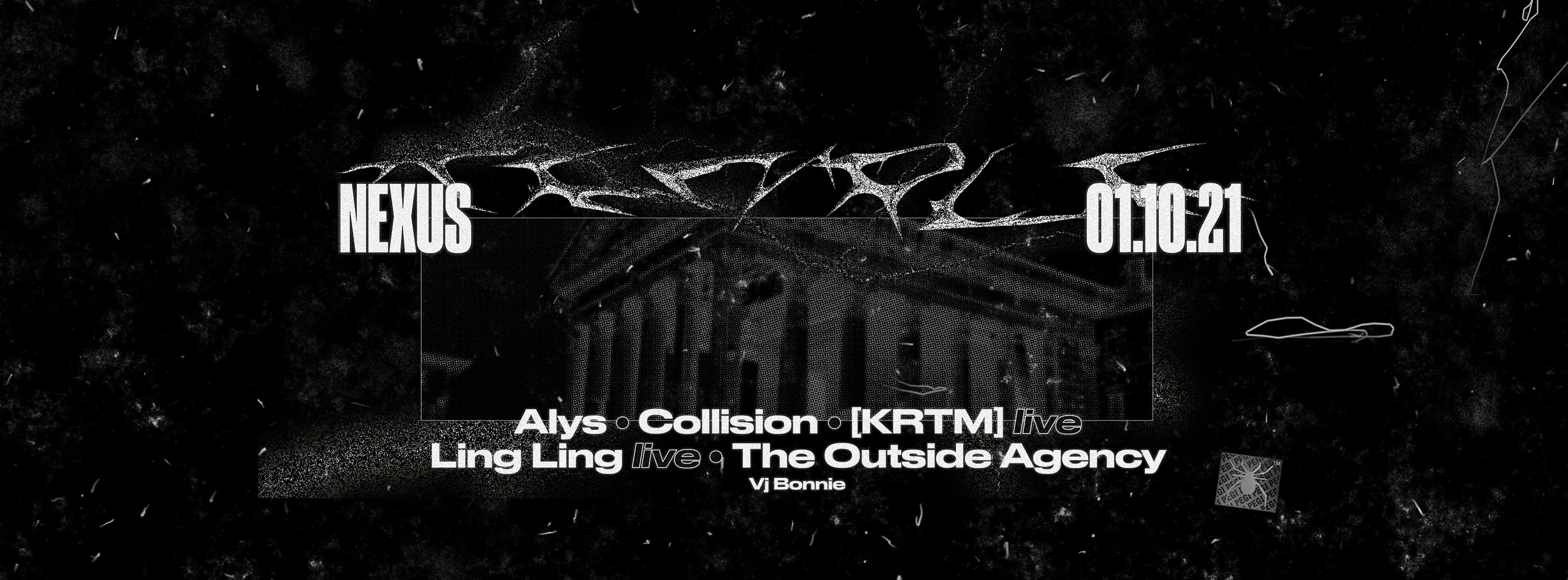 Temple w/ Collision - LingLing - KRTM - The Outside Agency