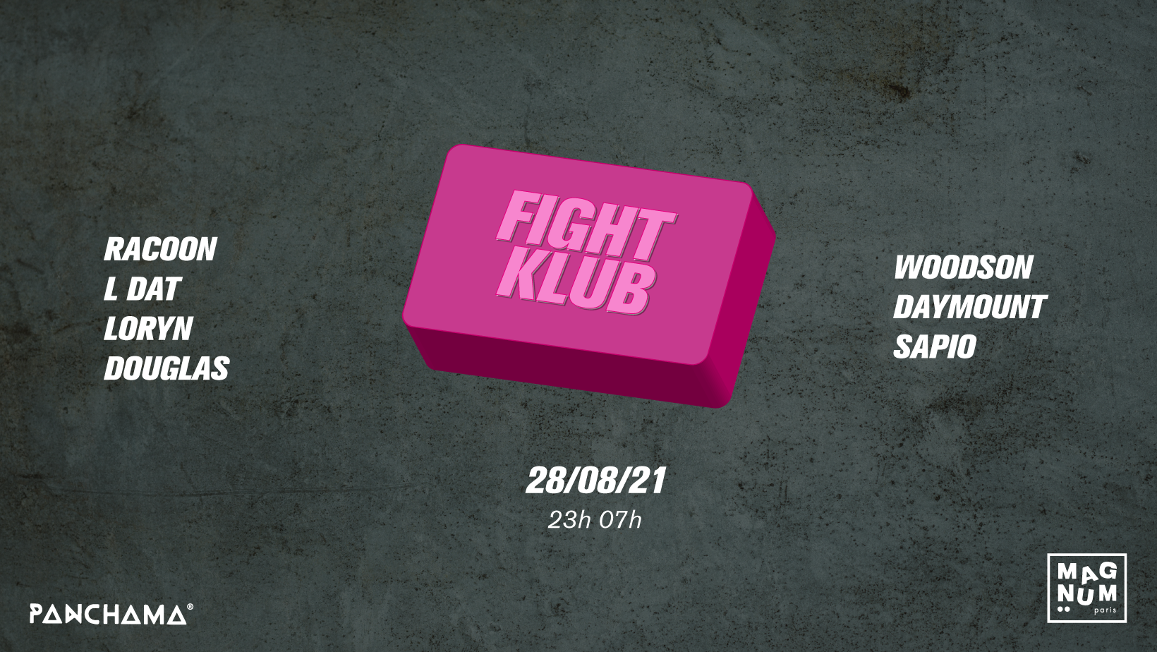 Fight Klub #1 - Panchama & Guests
