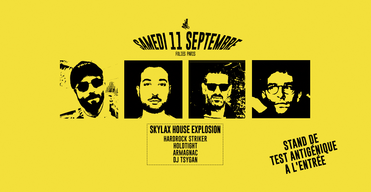 Skylax w/ Hardrock Striker, Holdtight, Armagnac, DJ Tsygan