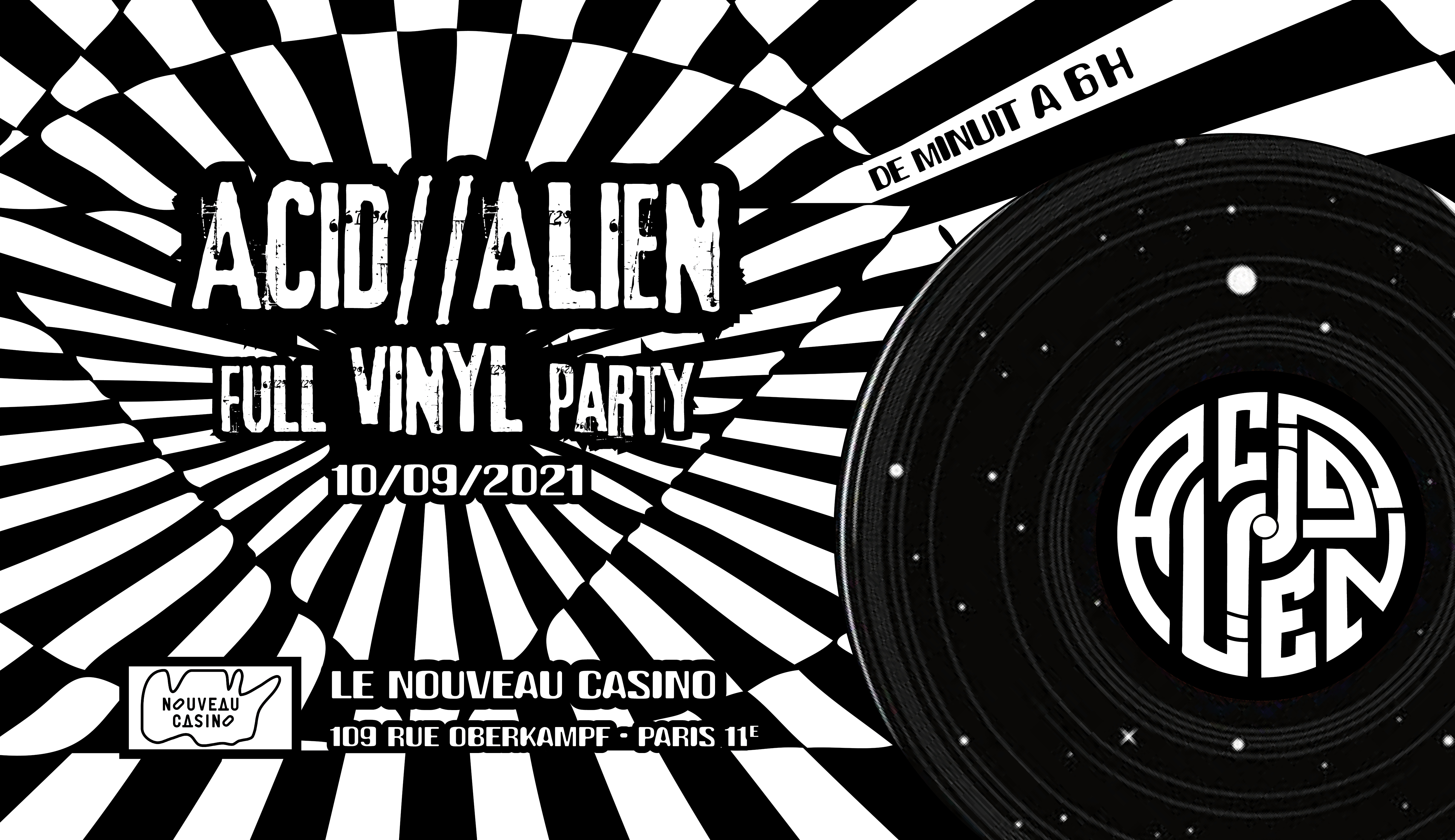 Acid Alien full vinyl