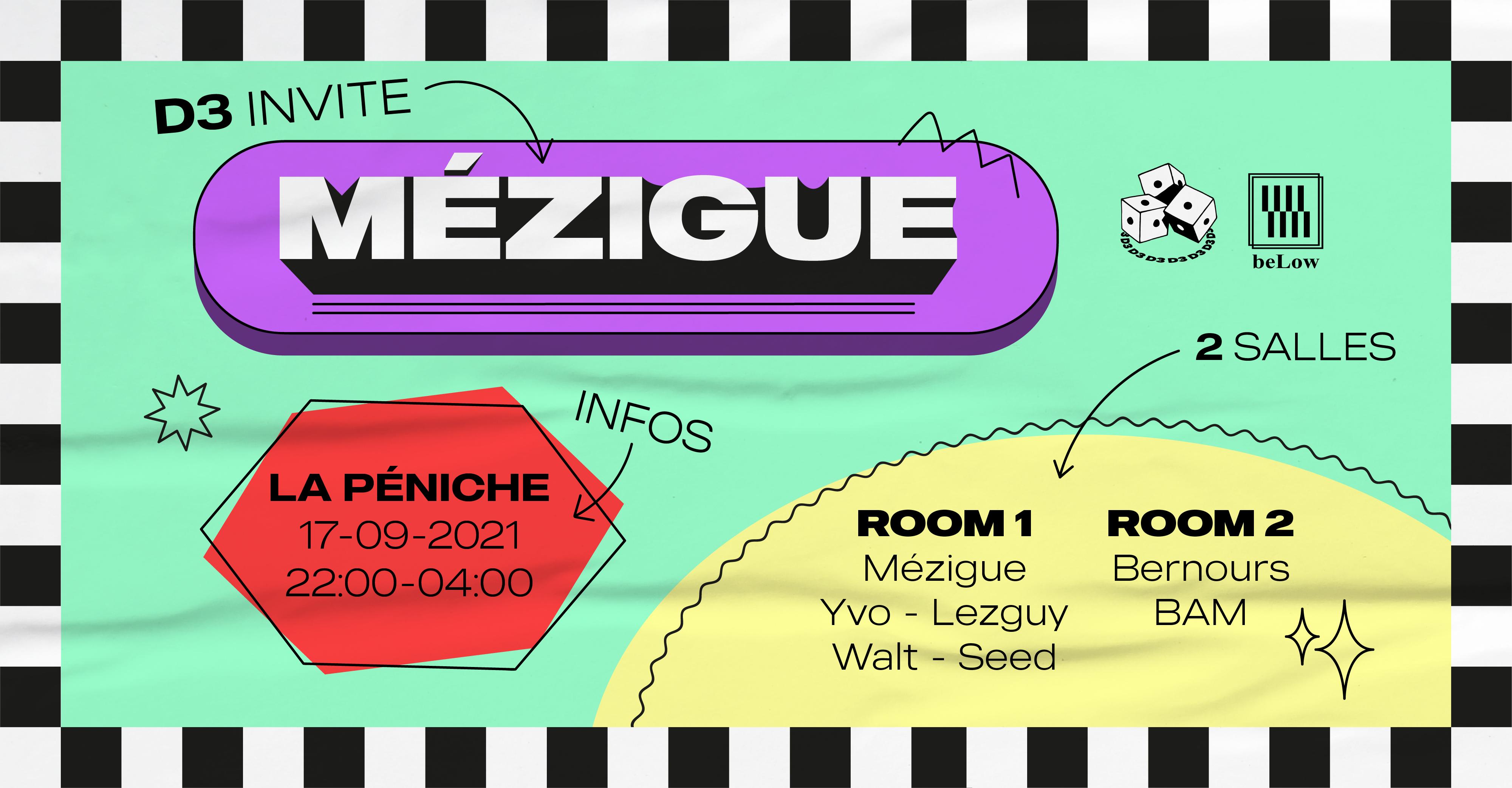 D3 invite Mézigue