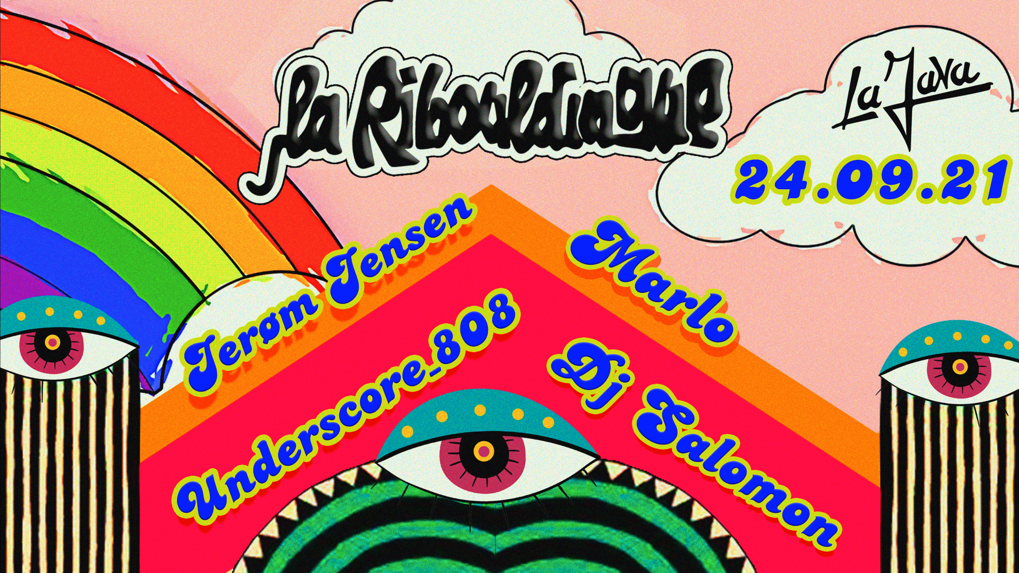 La Ribouldingue : Jerøm Jansen / Underscore_808 / DJ Salomon / Marlo