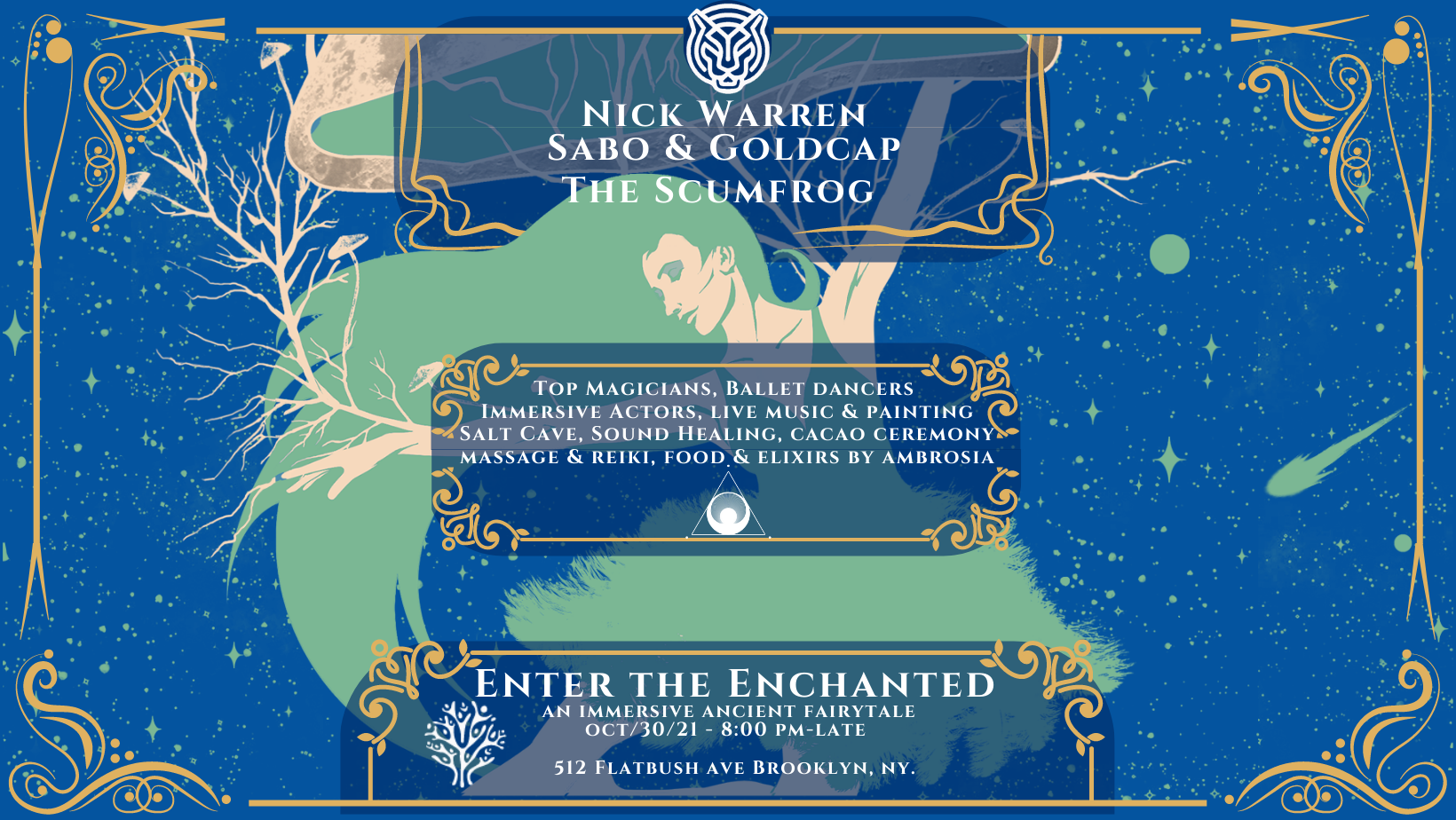 Enter The Enchanted: An Immersive Ancient Fairytale