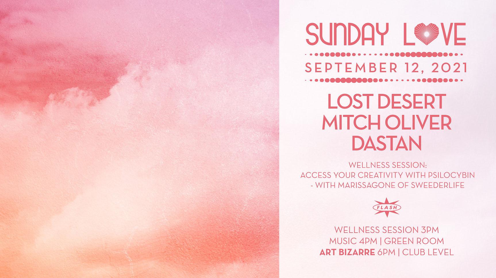 Sunday Love: Lost Desert - Mitch Oliver - Dastan