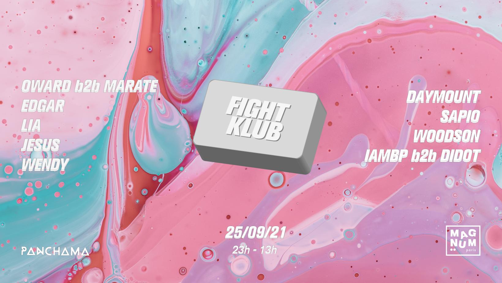 Fight Klub #2 - Panchama, Wendy, Lia, Edgar, Jesus, IAMBP, Oward...