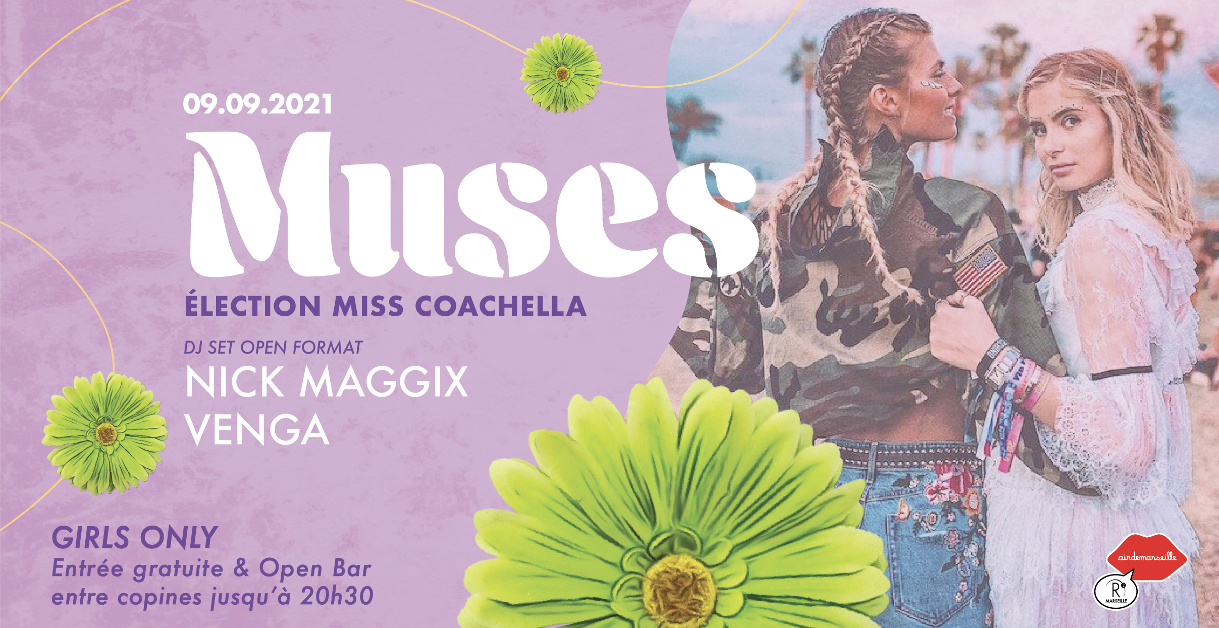 R2 ROOFTOP x MUSES x ELECTION MISS COACHELLA