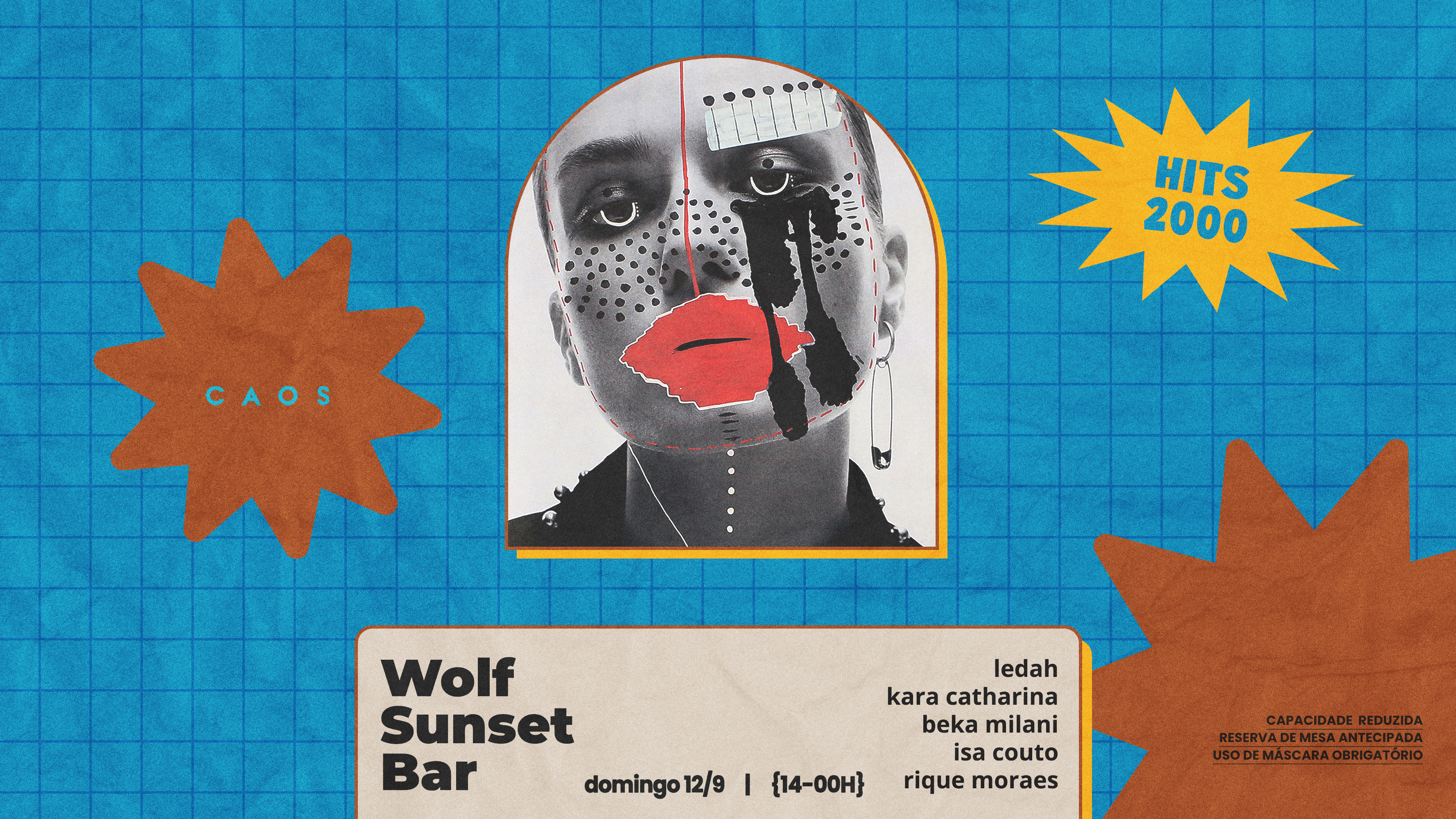 Wolf Sunset Bar apresenta Ledah