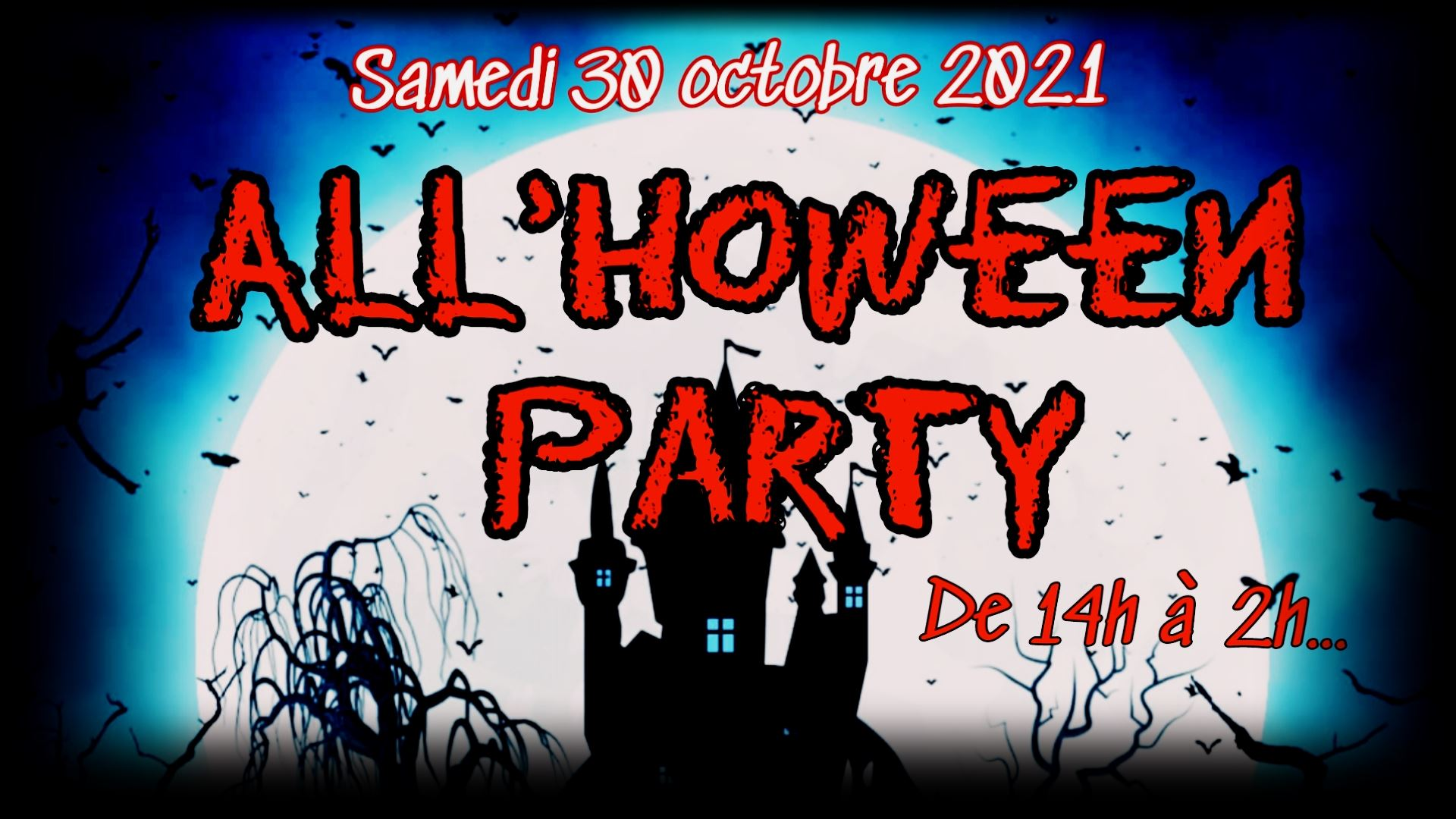 ALL'hoween party