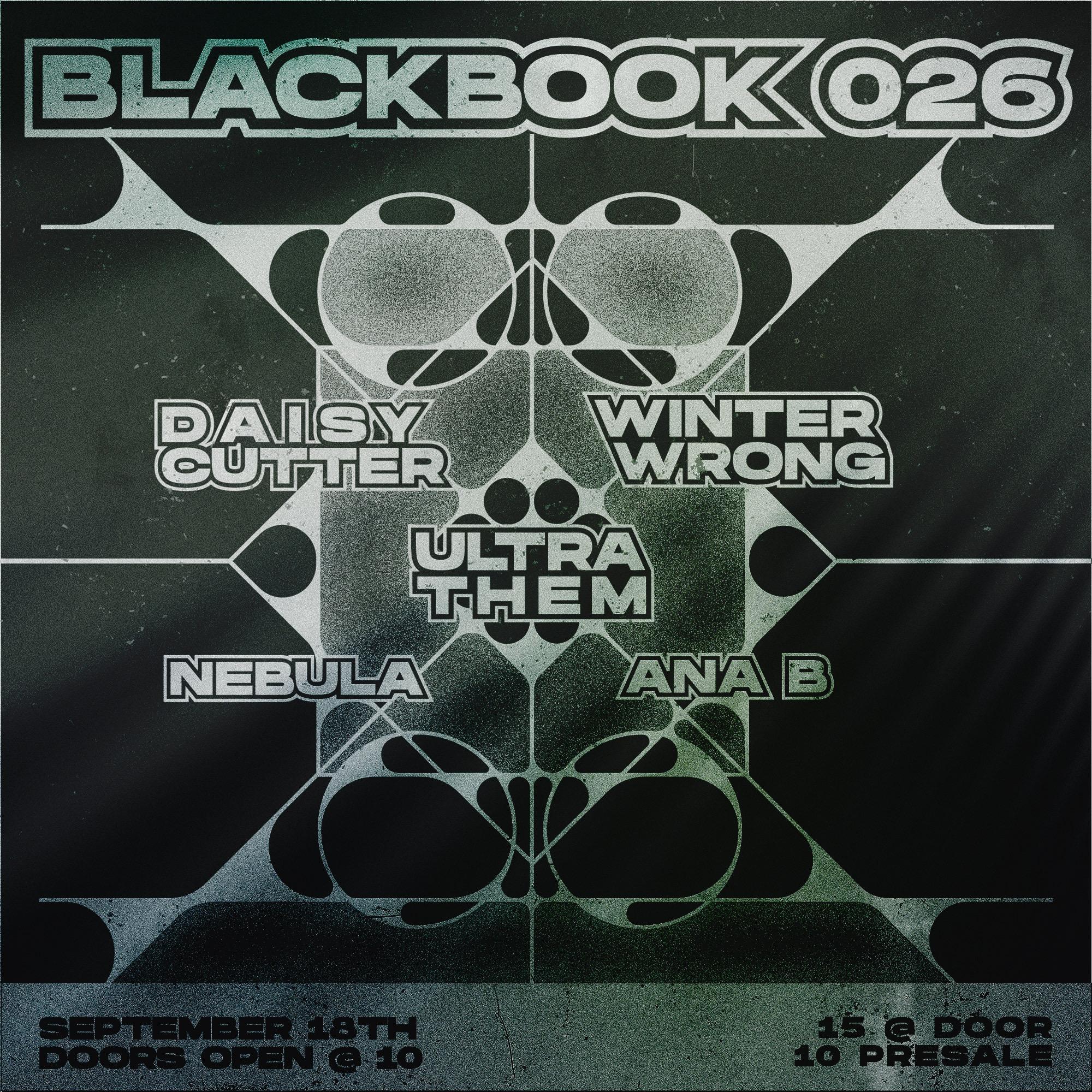 BLACKBOOK 026