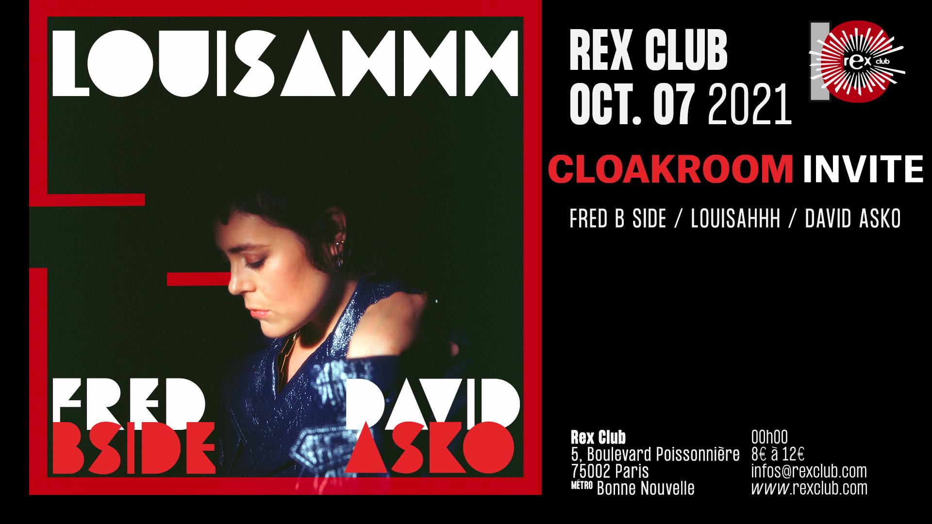 Cloakroom Invite : Louisahhh, Fred Bside, David Asko