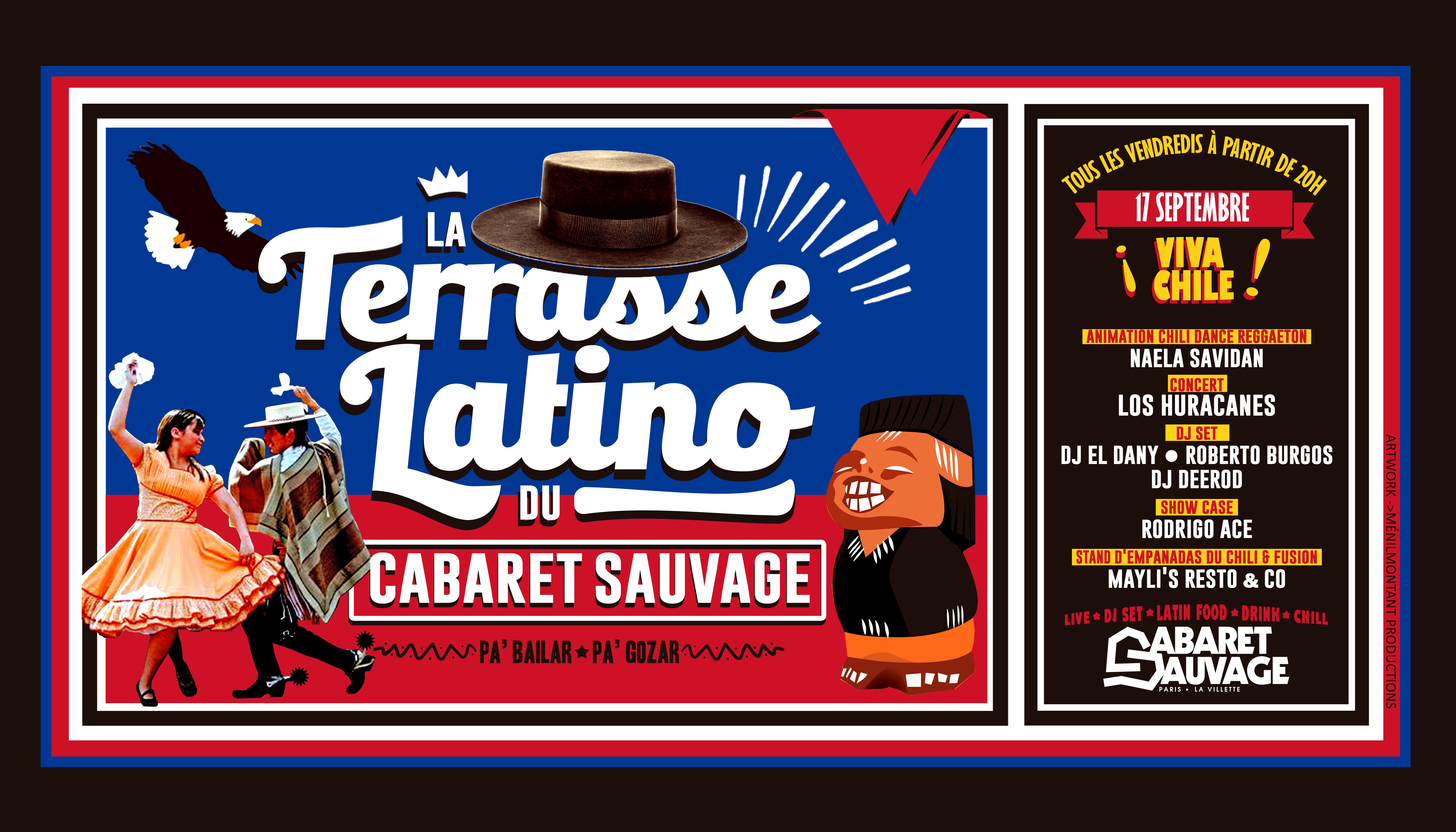 La Terrasse Latino du Cabaret Sauvage - Vendredi 17 Septembre 2021