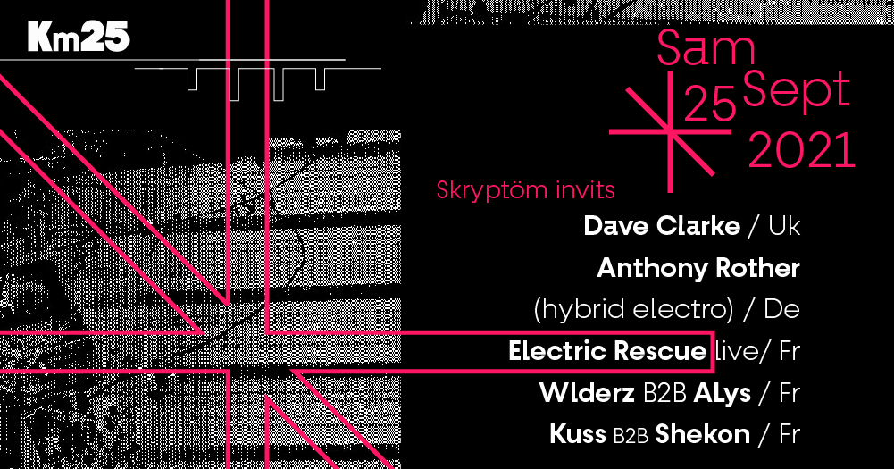 Skryptom : Dave Clarke, Anthony Rother, Electric Rescue & more