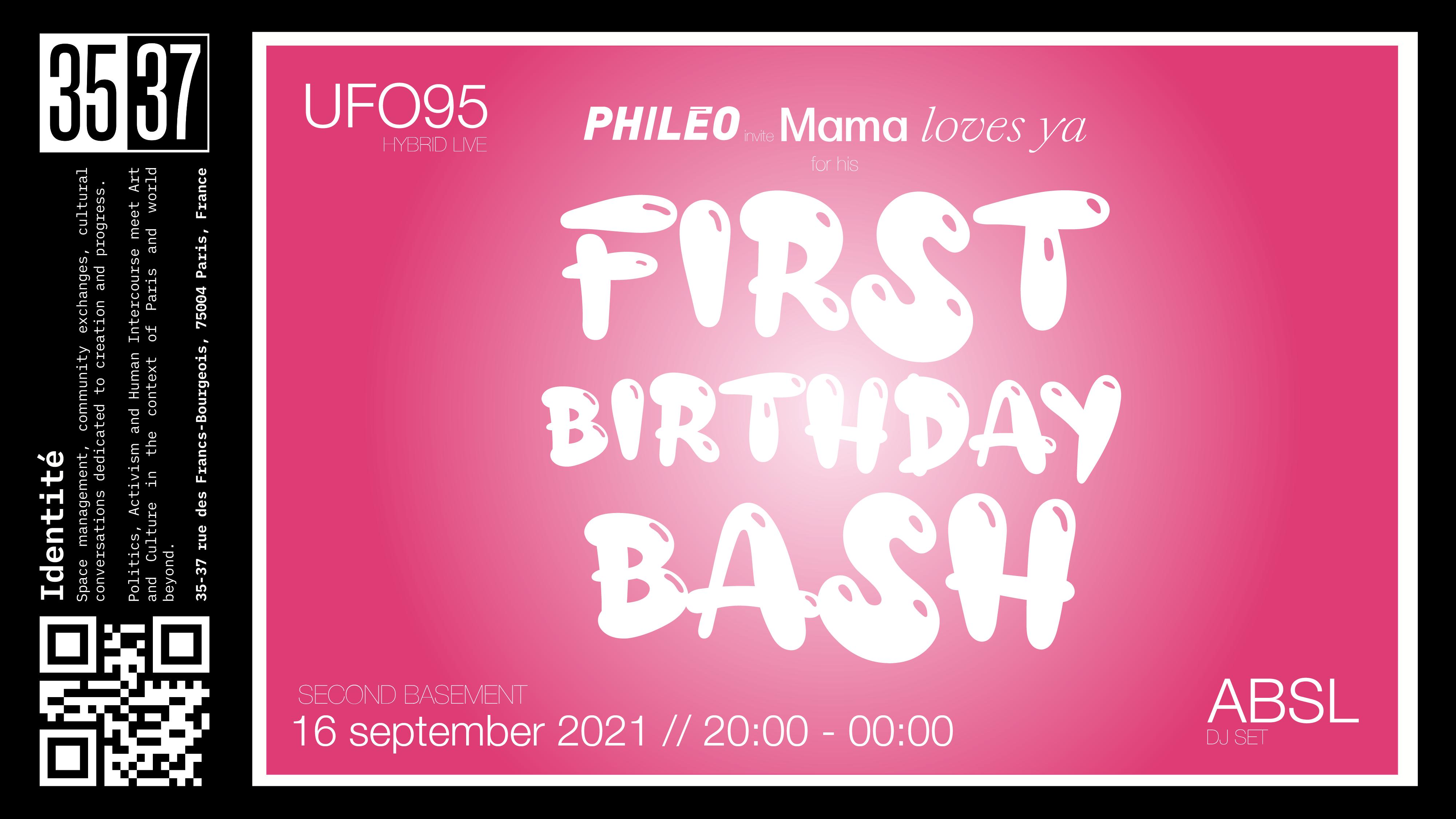 PHILÉO PARIS - First Birthday Bash