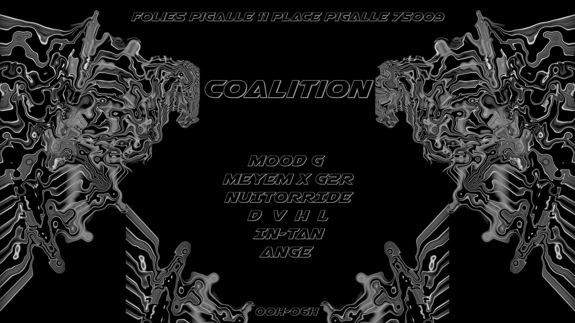 Marathon Nocturne Coalition @FoliesPigalle