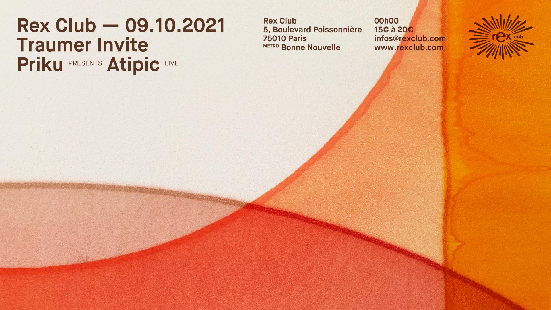 Traumer Invite Priku Presents Atipic Live