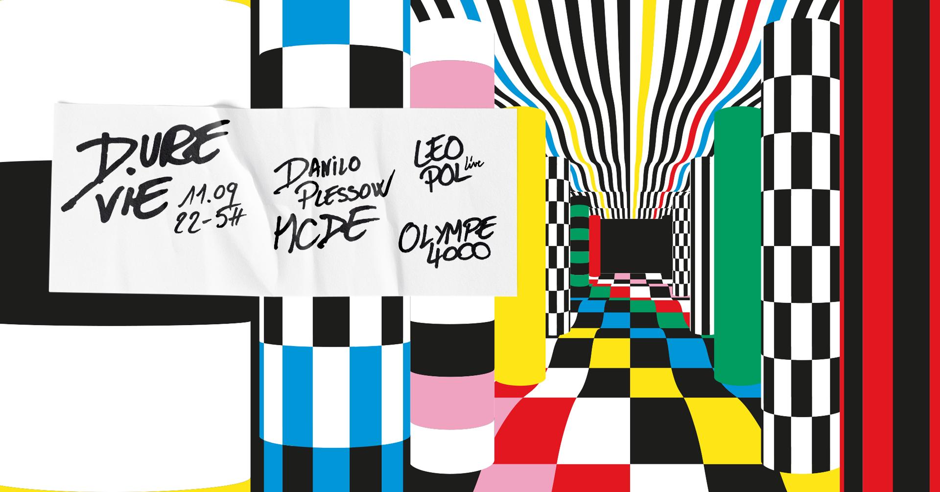 Dure Vie x Kilomètre25 : Danilo Plessow / MCDE, DJ Boring