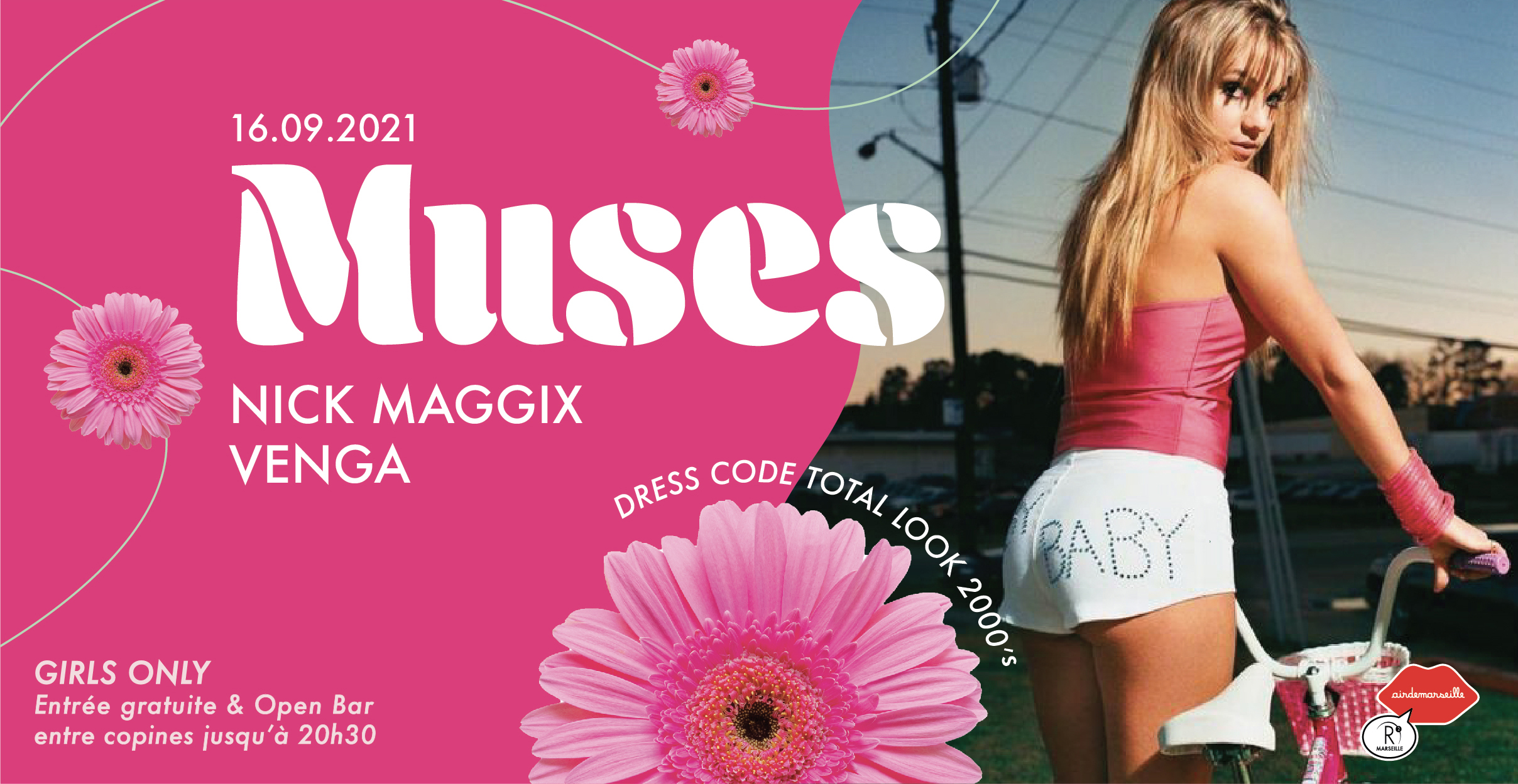 MUSES ÇA CONTINUE - TOTAL LOOK 2000'S W/ VENGA & NICK MAGGIX