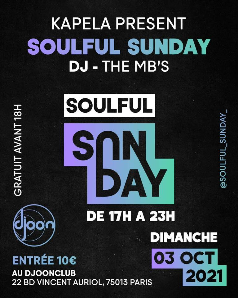 Soulful Sunday w/The MB's