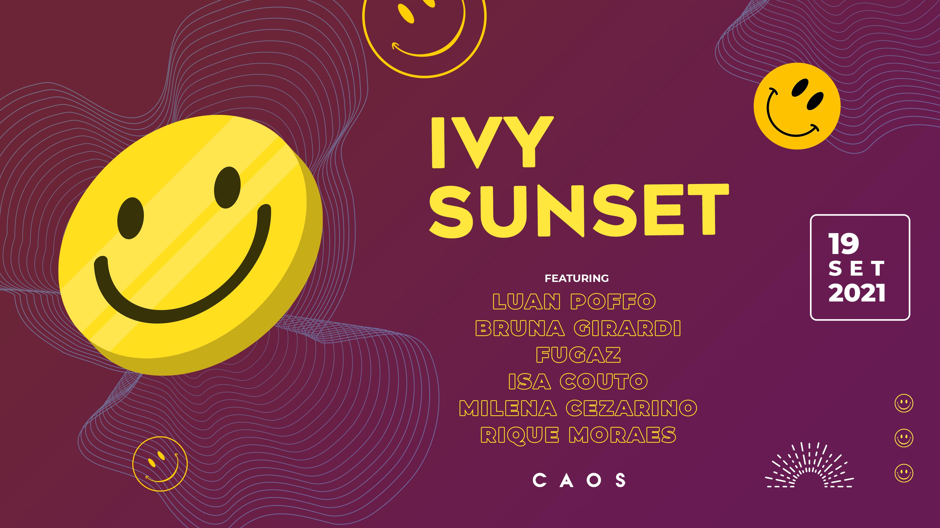 Ivy Sunset apresenta Luan Poffo
