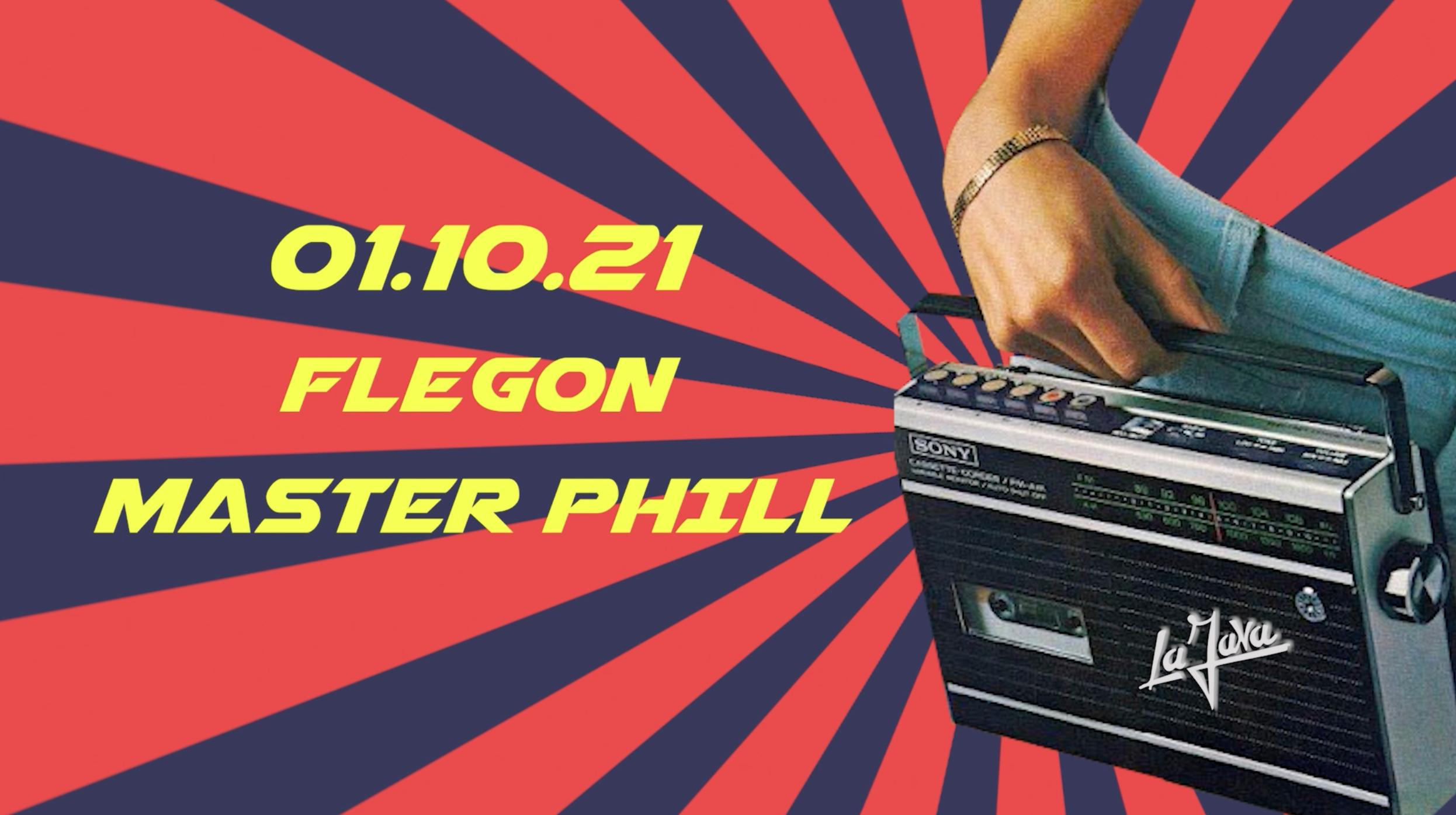 LA JAVA : Flegon & Master Phil - All night long