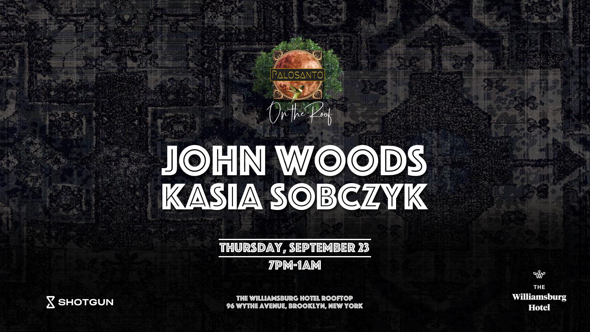 On The Roof: John Woods, Kasia Sobczyk