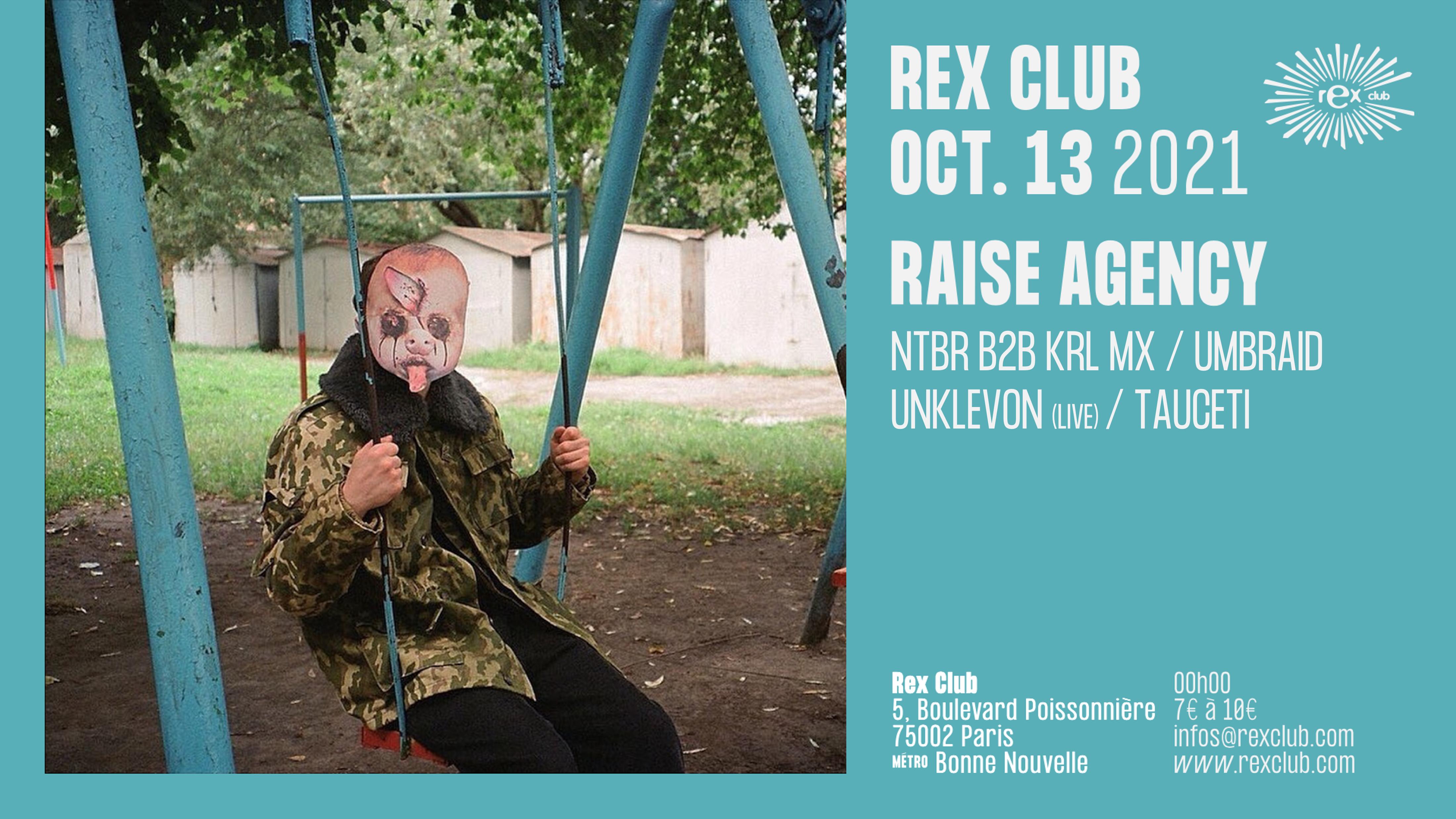 Raise Agency: NTBR b2b KRL MX, UMBRAID, UNKLEVON Live & more