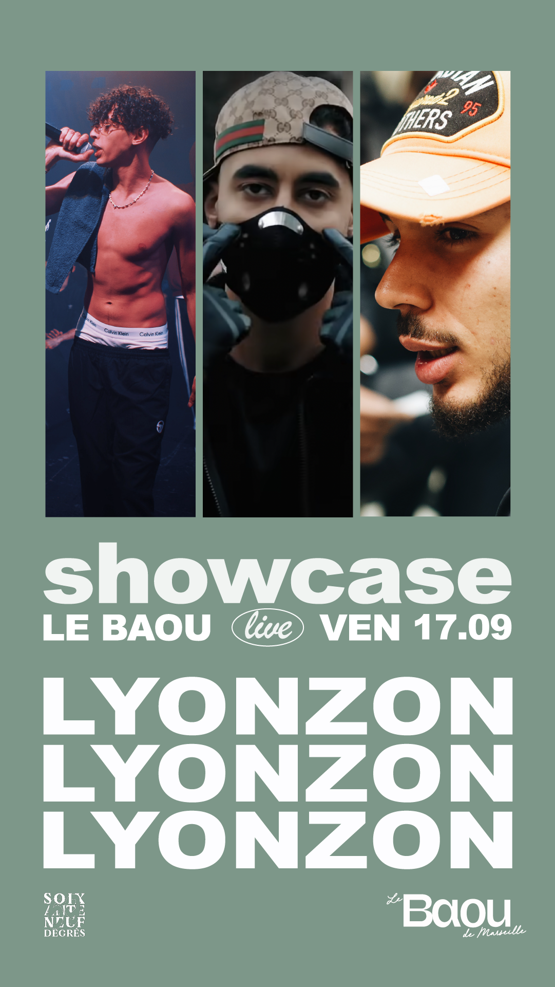 BAOU: Showcase Lyonzon w/ DJ BAUMETTES b2b 6MARA & Kayla