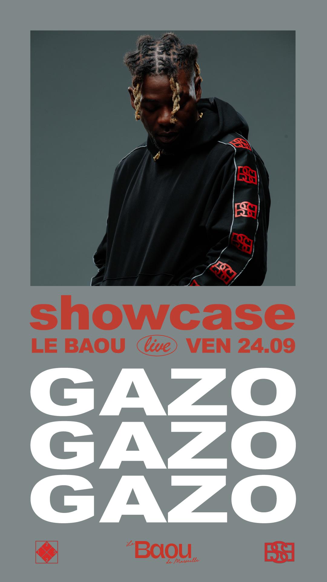 BAOU: Showcase Gazo w/ Bobba A$h