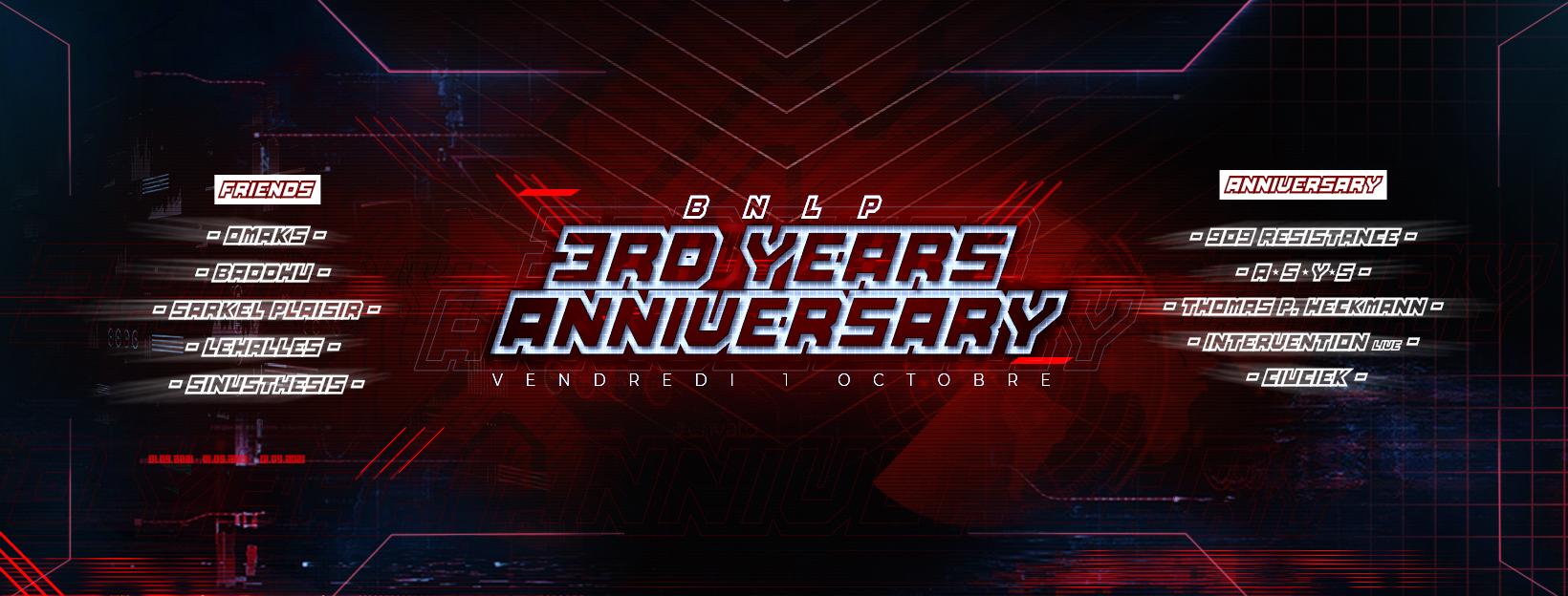 BNLP - 3rd Years Anniversary