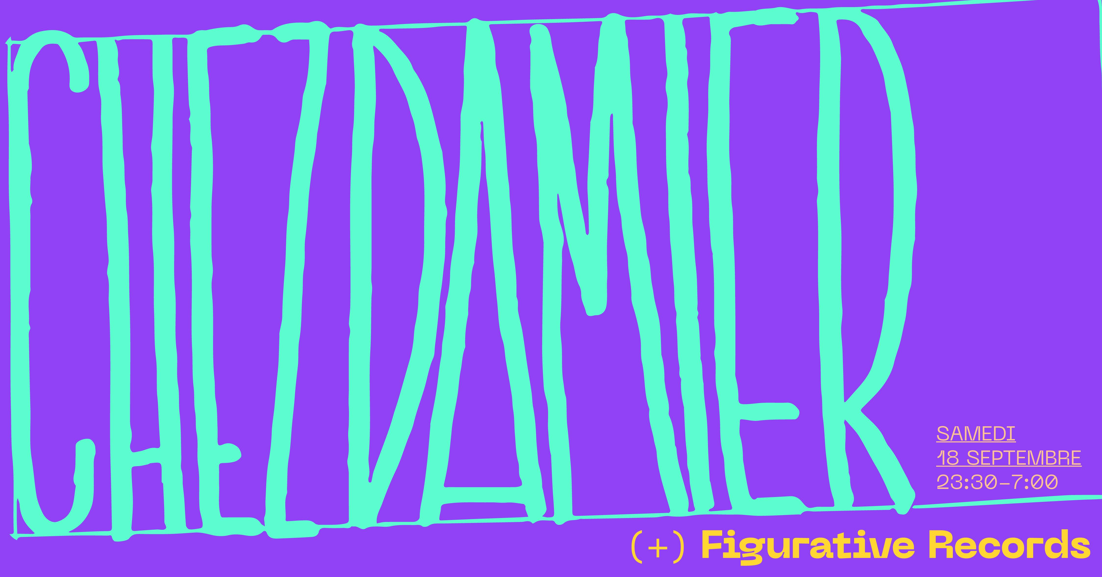 Badaboum Club : Chez Damier extended set, Figurative Records