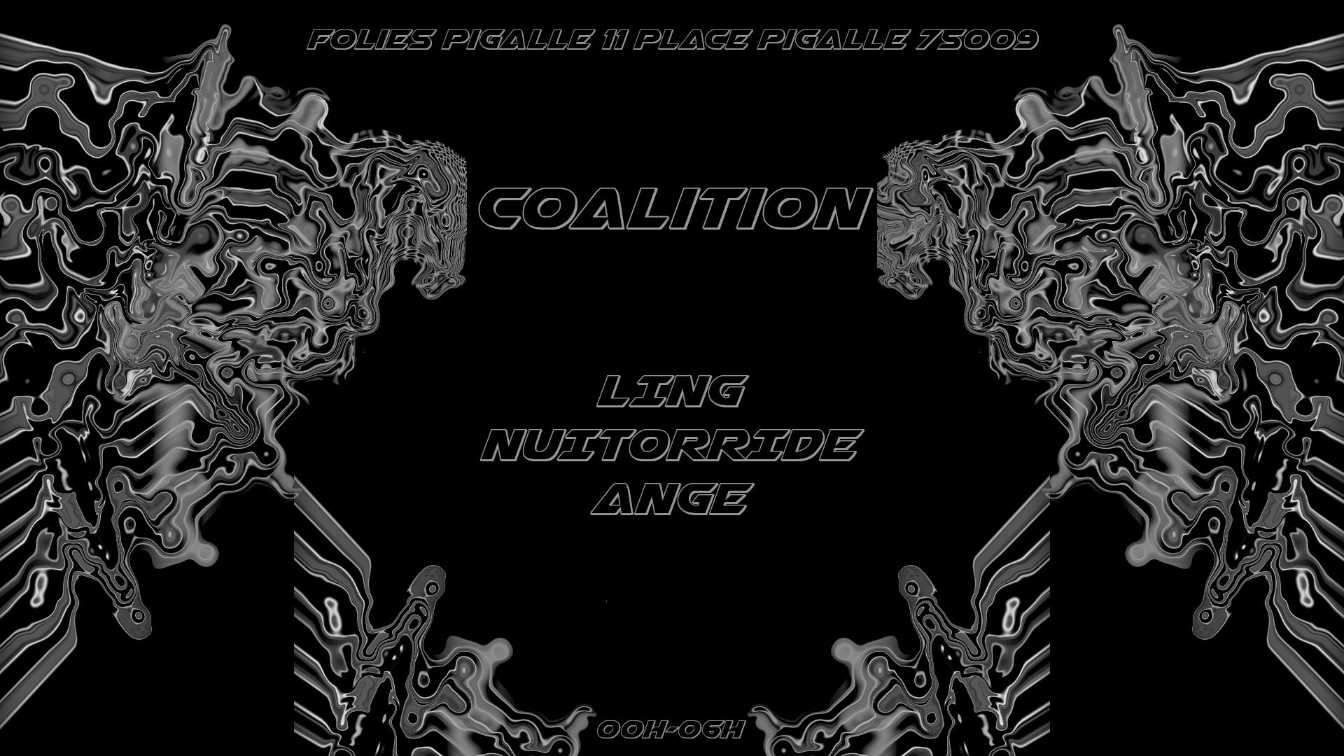 Marathon Nocturne : COALITION @FoliesPigalle