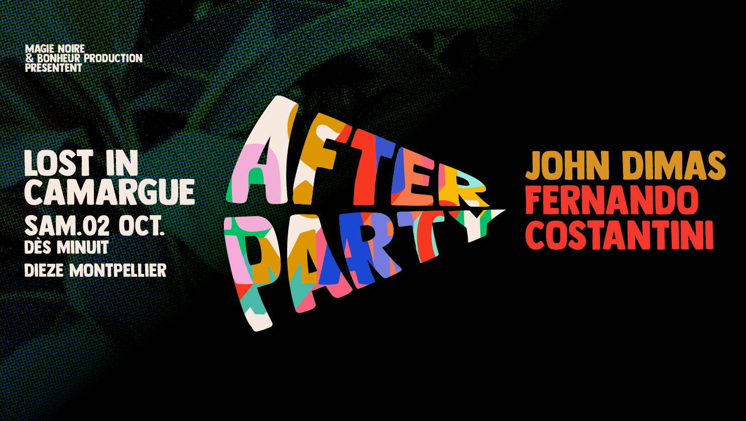 """Lost In Camargue """" After Party """""""
