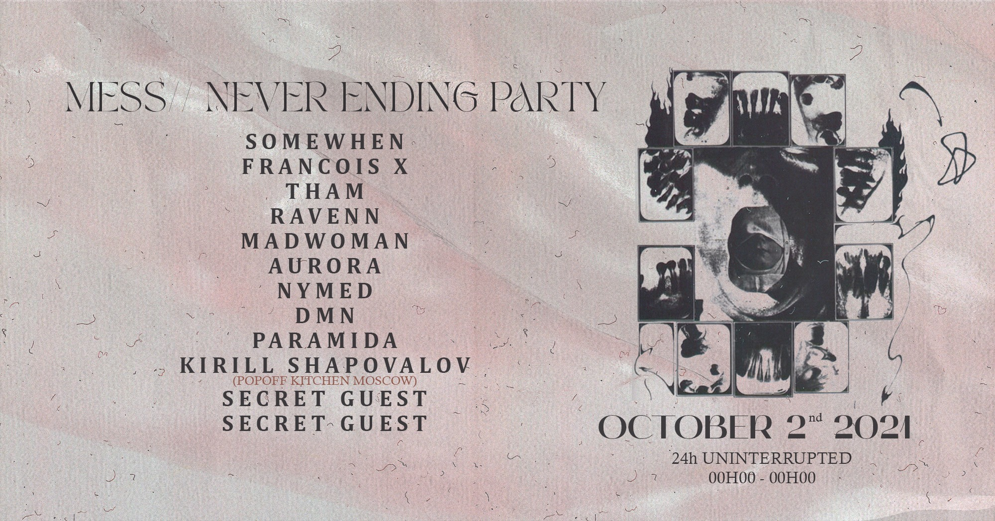 MESS // NEVER ENDING PARTY