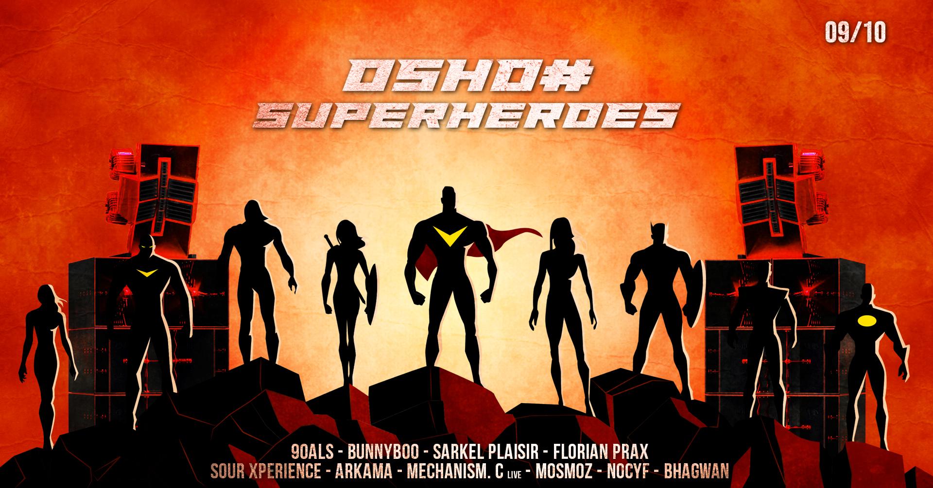 OSHO# : Superheroes